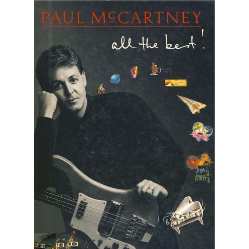 Paul Mccartney All The Best * 22 Partituras Piano Acordes  G