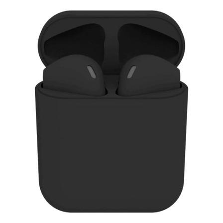 Fone de ouvido In-ear sem fio i12 TWS preto