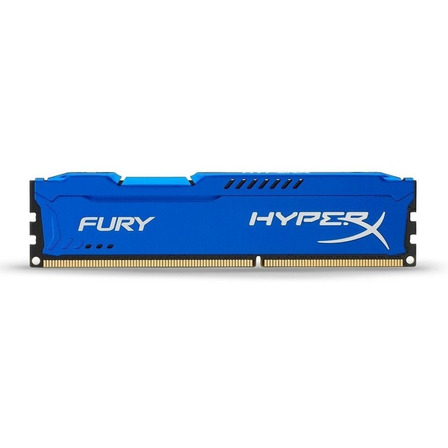 Memória RAM 8GB 1x8GB HyperX HX318C10F/8 Fury