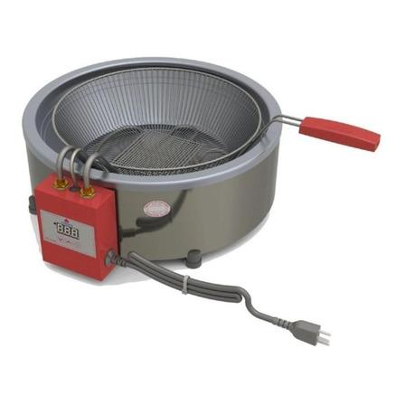 Fritadeira industrial elétrica Progás PR-70 EL 7L prata 220V
