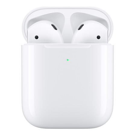 Auriculares inalámbricos Apple Airpods with Wireless Charging Case (2nd Generation) blanco