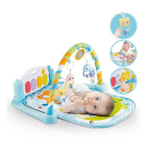 Gimnasio Y Alfombra Con Piano Para Bebe 5 En 1
