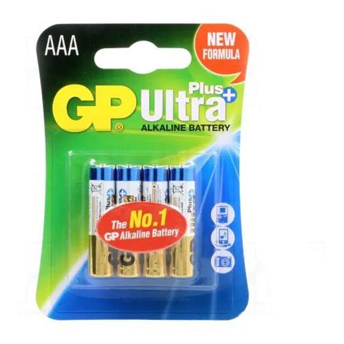Pilas Gp Alcalinas Aaa Ultra Plus Pack X4 Febo