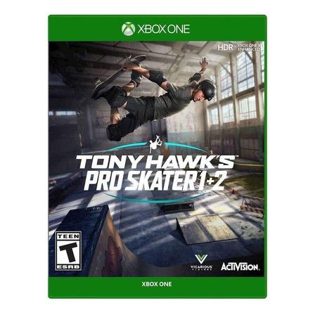 Tony Hawk's Pro Skater 1 + 2 Standard Edition Activision Xbox One Físico