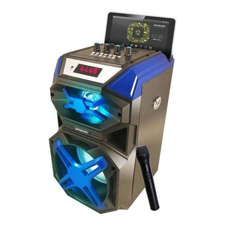 Parlante Panacom Skyline K14WM portátil inalámbrico Azul 220V