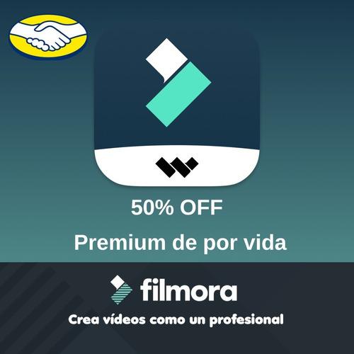 Wondershare Filmora Pro + Licencia