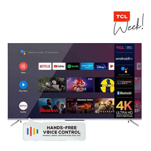 Smart Tv 55  4k Ultra Hd Tcl L55p715
