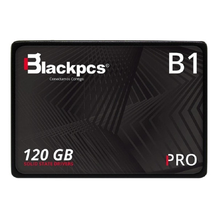 Disco sólido SSD interno Blackpcs ADV Series AS2O1-120 120GB negro