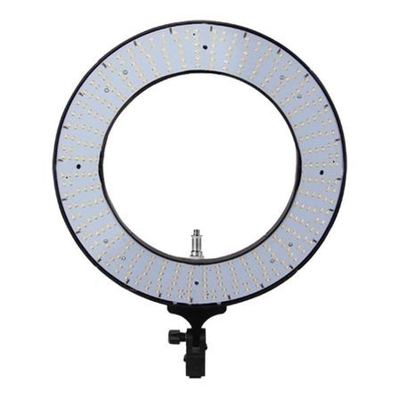 """Luz contínua Easy Ring 18"""" tipo aro} cor branca-quente e branca-fria 110V/220V"""