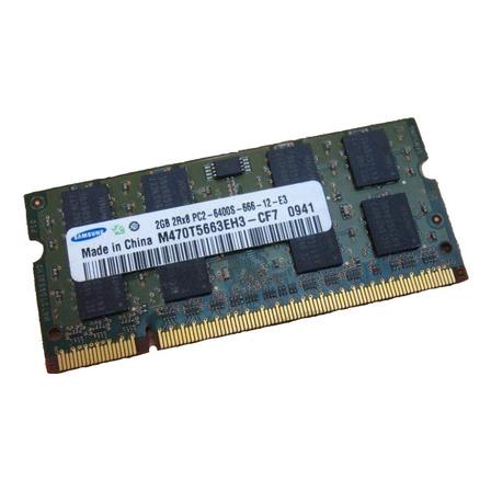 Memoria RAM  2GB 1x2GB Samsung M470T5663EH3-CF7