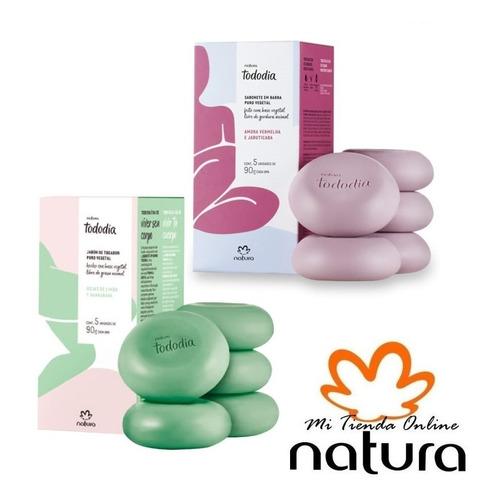 Pack 10 Jabones Variedades  - Natura Tododia