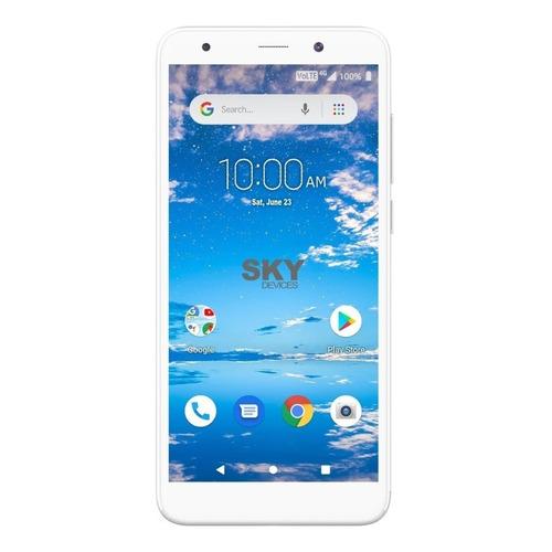 Sky Devices Elite B55 Dual SIM 16 GB silver 1 GB RAM