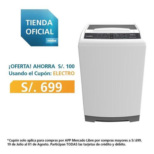Lavadora Automática 10kg Mabe Lma100bxi0