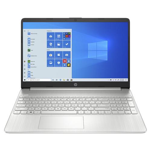 "Notebook HP 15-DY1024WM plata 15.6"", Intel Core i3 1005G1  4GB de RAM 128GB SSD, Intel UHD Graphics 1366x768px Windows 10 Home"