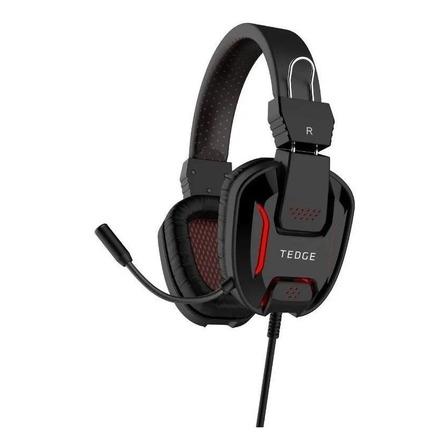 Fone de ouvido gamer Tedge  preto