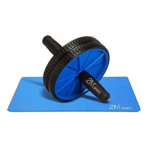 Rueda Abdominales + Mini Mat Entrenamiento Fitness Ejercicio