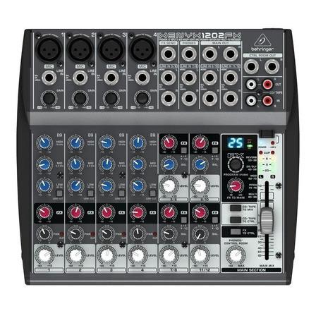 Consola Behringer 1202 Xenyx de mezcla 220V