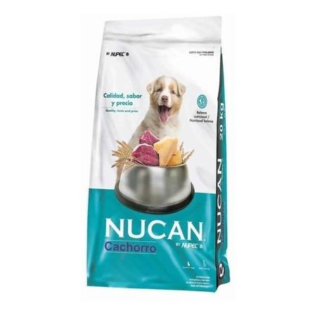 Alimento Nucan para perro cachorro sabor mix en bolsa de 20kg