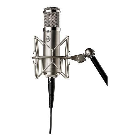 Micrófono Warm Audio WA-47JR cardioide, omnidireccional plata