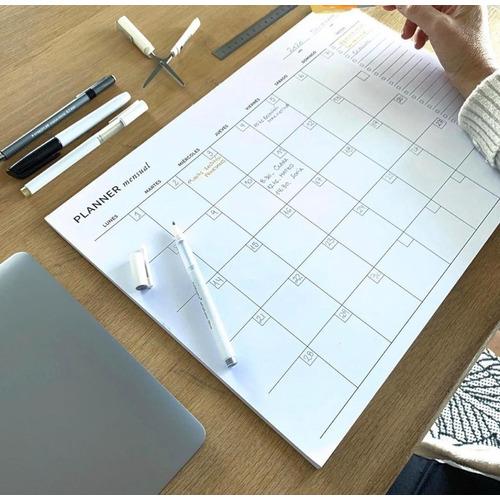 Planner Mensual - Organizador Mensual