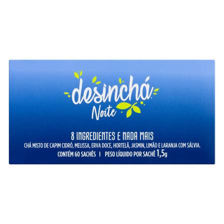 Chá Desinchá frutado e envolvente em sachê 90 g 60 u
