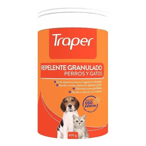 Traper Repelente Exteriores Perros Gatos - Granulado 600gr