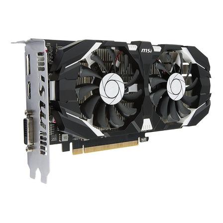 Placa de video Nvidia MSI  GeForce 10 Series GTX 1050 Ti GEFORCE GTX 1050 TI 4GT OC OC Edition 4GB
