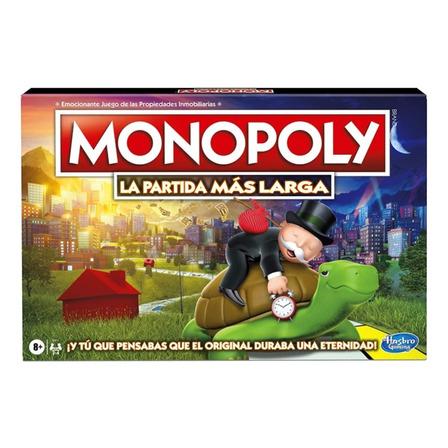 Juego de mesa Monopoly La Partida más Larga Hasbro
