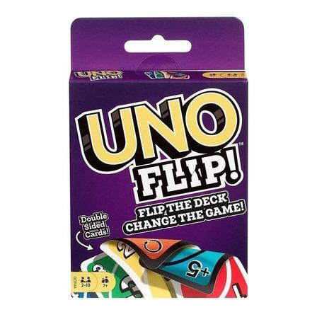 Juego de cartas Uno Flip Mattel