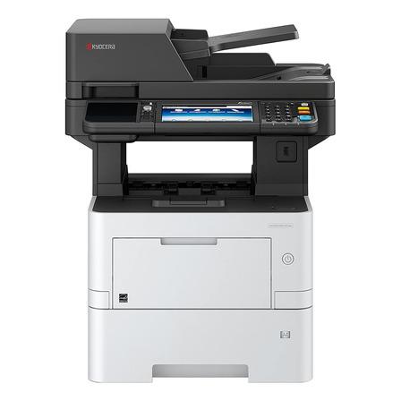 Impresora multifunción Kyocera Ecosys M3145idn con wifi blanca y gris 120V