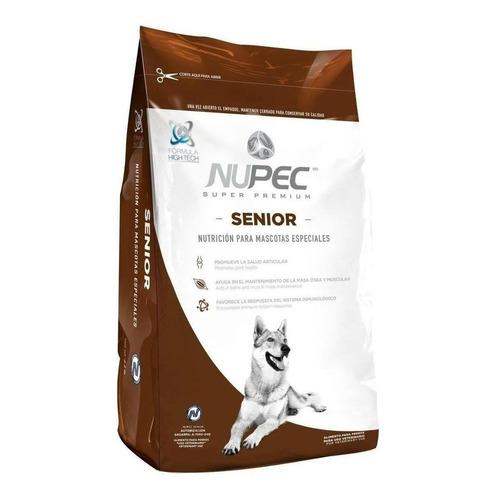 Alimento Nupec Nutrición Científica para perro senior todos los tamaños sabor mix en bolsa de 15kg