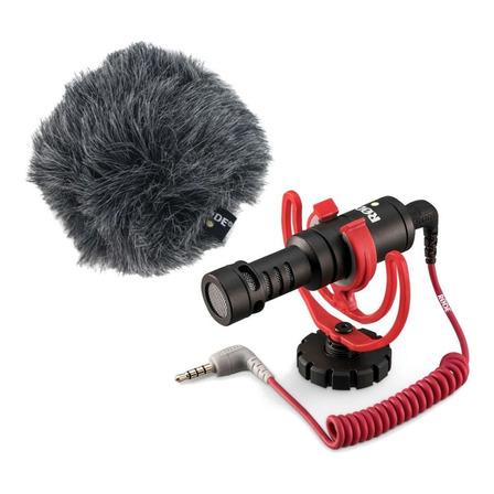 Micrófono Rode VideoMicro condensador cardioide negro