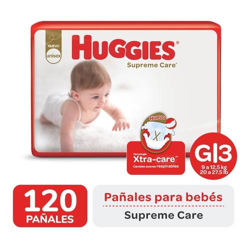 Pañales Huggies Supreme Care Ahorrapack Pack X 2