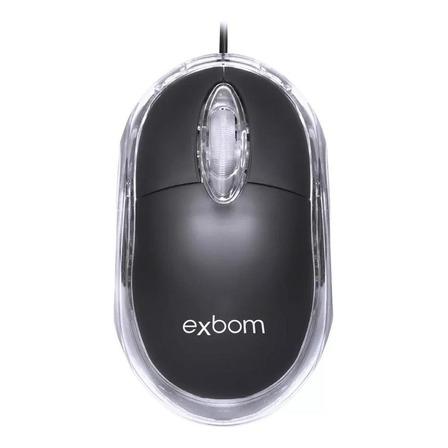 Mouse Exbom MS-10 preto