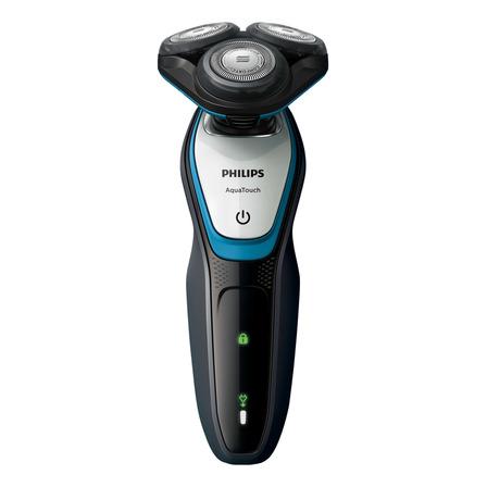Afeitadora Philips AquaTouch S5070/02   gris oscuro y azul turquesa 100V/240V