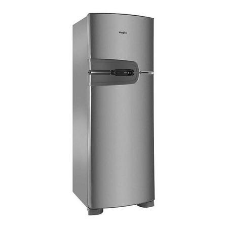 Heladera no frost Whirlpool WRM35H  inox con freezer 275L 220V
