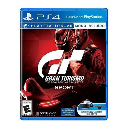 Gran Turismo Sport Standard Edition Físico PS4 Sony