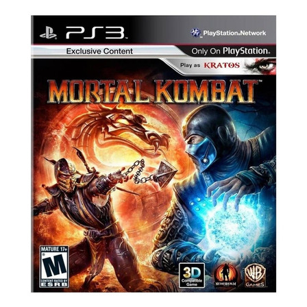 Mortal Kombat  Standard Edition Digital PS3 Warner Bros.