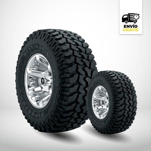 Neumático Firestone 235/75x15 Destination M/t Por 2 Unidades