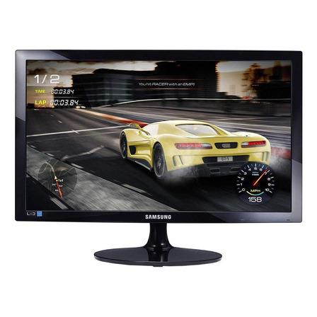 """Monitor Samsung S24D332H led 24"""" preto 110V/220V"""