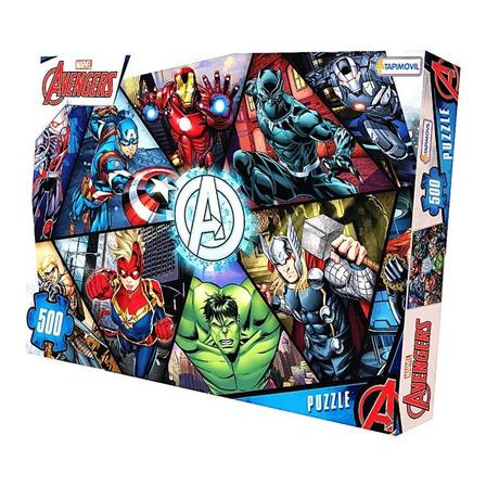 Rompecabezas Tapimovil Avengers de 500 piezas