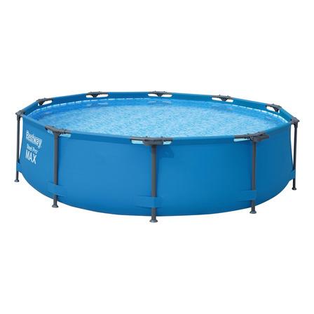 Pileta estructural redonda Bestway 56406 con capacidad de 4678 litros de 3.05m de diámetro azul