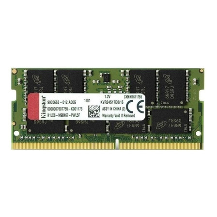 Memória RAM ValueRAM  16GB 1x16GB Kingston KVR24S17D8/16