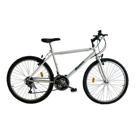 Mountain bike Siambretta 91-034/617 R26 21v frenos v-brakes color blanco con pie de apoyo
