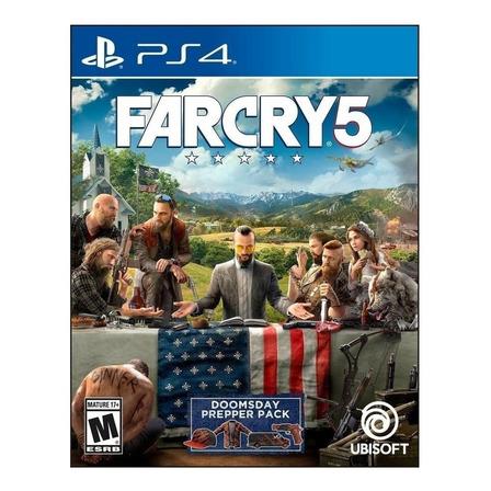 Far Cry 5 Standard Edition Ubisoft PS4 Físico