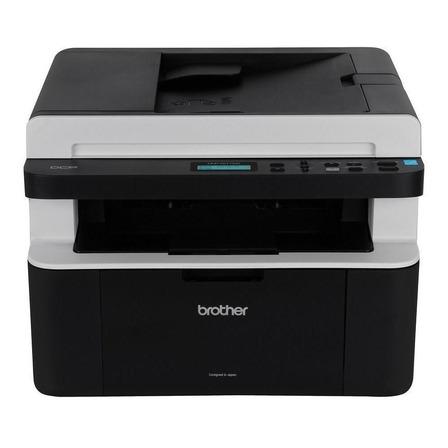 Impressora multifuncional Brother DCP-1617NW com wifi preta 110V - 120V