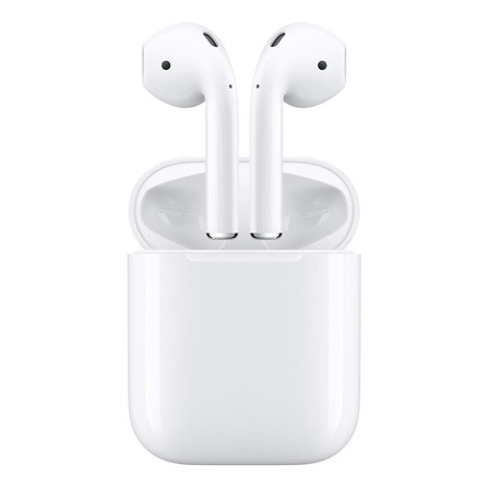 Fone de ouvido in-ear sem fio Apple AirPods with charging case (1st generation) branco