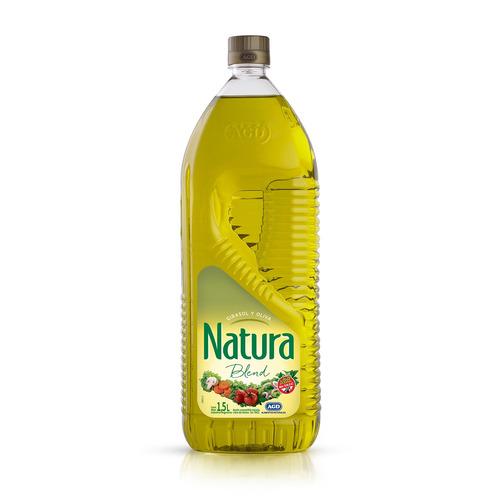 Aceite blend girasol y oliva Natura botella1.5l