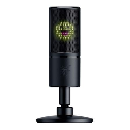 Micrófono Razer Seiren Emote hipercardioide negro