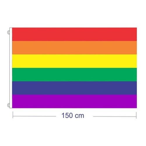 Bandera Diversidad Lgbt 150 X 90 Poliester